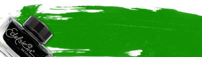 グリーン系インク一覧
