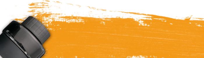 オレンジ系インク