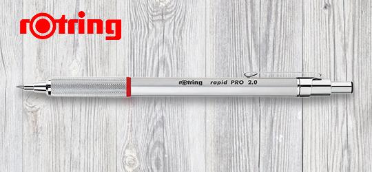 ロットリング シャープペン 2.0mm